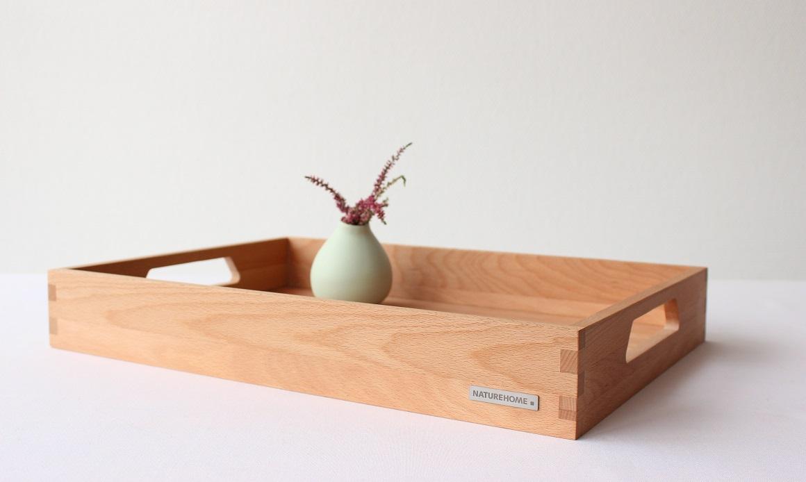 Basic-Holztablett: Das Besondere ist die Einfachheit