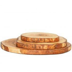 Slice of olive wood, div. sizes