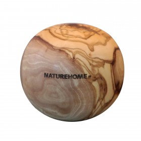 Ball olive wood, 10 cm