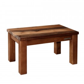 ECO footstool walnut natural oiled, 40,5 x 26 x 24 cm