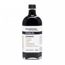 Furniture oil – black , 250 ml