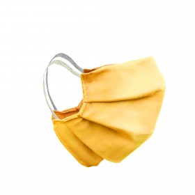 Mouth and nose mask yellow