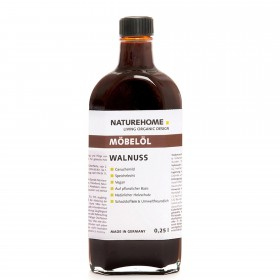 Furniture oil – walnut, 250 ml
