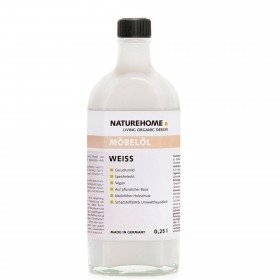 Furniture oil – white, 250 ml