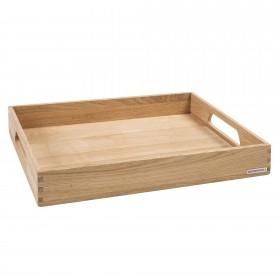 NH-B wooden tray oak, 50 x 35,5 x 7 cm