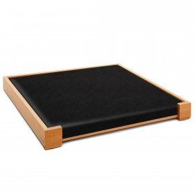 DESIGN dog bed beech wood 100/105 x 80/85 cm incl. mattress, div. models