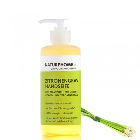 Lemon grass organic hand soap, 300 ml