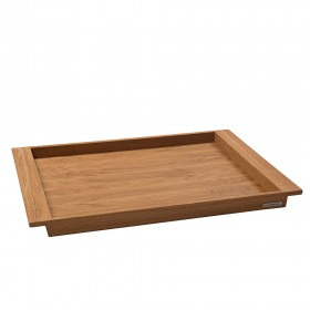 NH-E wooden tray oak, 64,5 x 43 x 4 cm