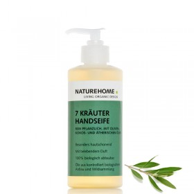 Organic 7 Herbs Hand Soap 300 ml