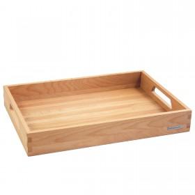 NH-B wooden tray beech, 50 x 35,5 x 7cm