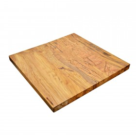 PROFI cutting board olive wood, 60 x 60 x 4 cm