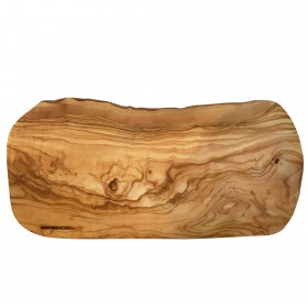 Tree Slice Olive Wood oval M 50cm