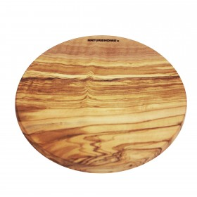 Chopping Board olive wood round, 30 cm