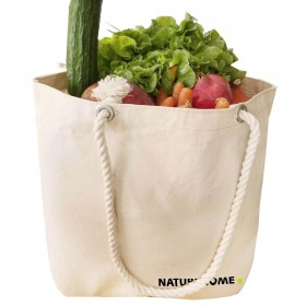 XXL shopper shoulder bag made of organic cotton
