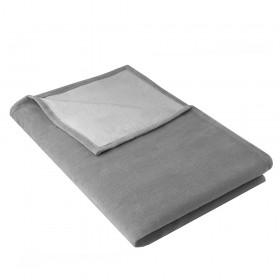 Blanket IDA 100% organic cotton, 140 x 200 cm, slate grey