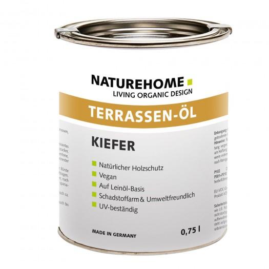 Terrassen-Öl Holzöl für Außenbereich 0,75 l Kiefer