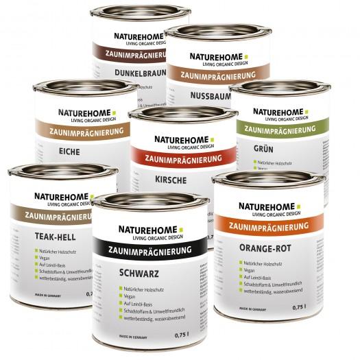 Zaunimprägnierung für Außenbereich 750 ml, div. Farben