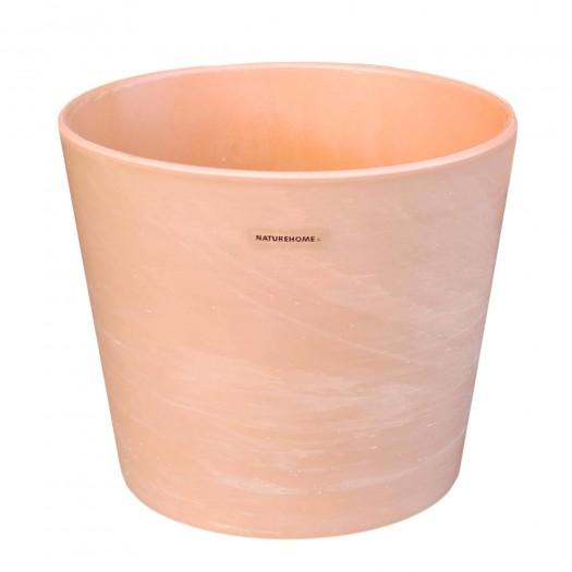 Blumentopf Übertopf Keramik in Terrakotta-Optik Ø 23,5 cm