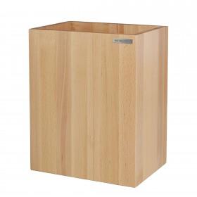 Papierkorb CLASSIC Buchen-Holz Natur geölt