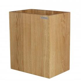 Papierkorb CLASSIC Eichen-Holz Natur geölt