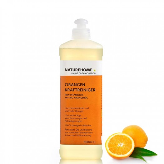Bio Kraftreiniger Orange 500 ml