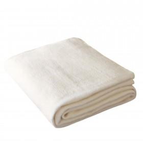 Wohndecke OLE 150x200cm in Sand aus 100% Baumwolle (BIO)