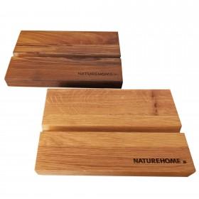 Tablet-Halter versch. Holzarten 19,5 x 12,5 x 2,5 cm