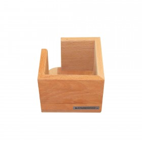 CLASSIC Zettelbox Buche 11,5 x 11,5 x 9,5 cm