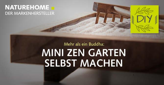 Zen Garten selbst gemacht