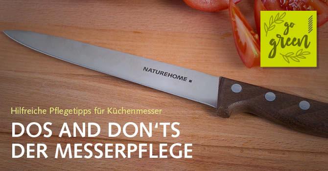Hilfreiche Pflegetipps für Küchenmesser