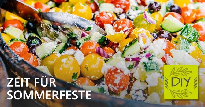 Salat für Grillfeier