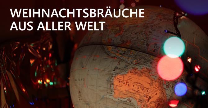 Weihnachten Globus