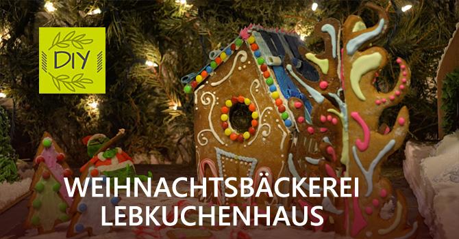 Weihnachtsbäckerei Lebkuchenhaus