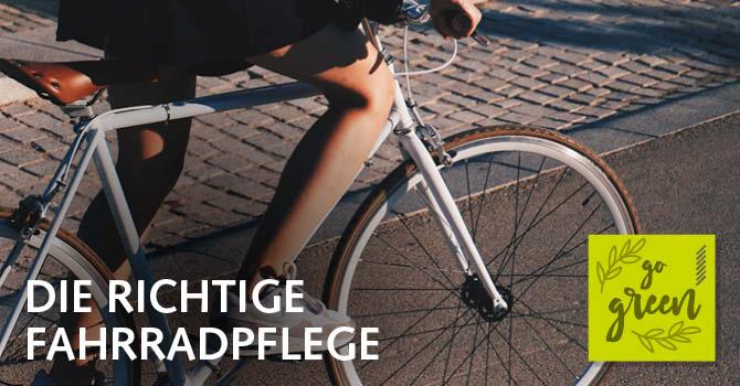 Die richtige Radpflege: Nachhaltige Reinigungstipps für Ihr Fahrrad