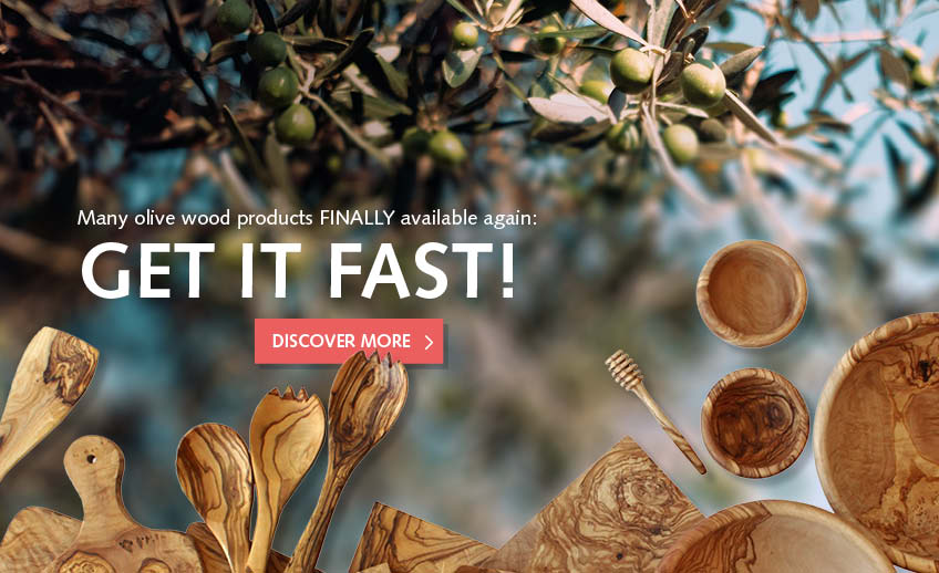 olive wood products - get it fast