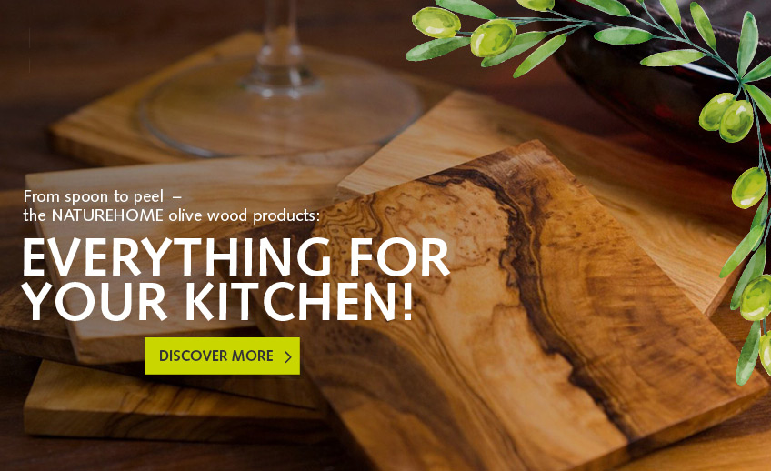 Olive wood for the kitchen